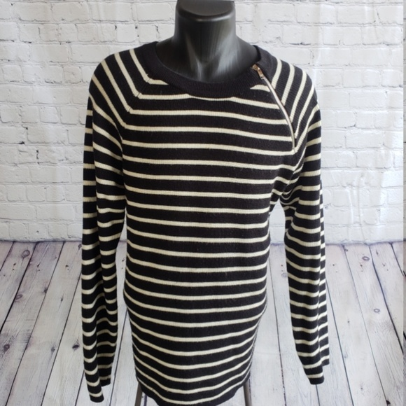 YSL - YVES SAINT LAURENT - STRIPED SAILOR SWEATER